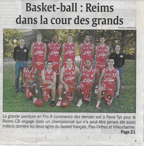 RCB - Equipe Pro A - 2003