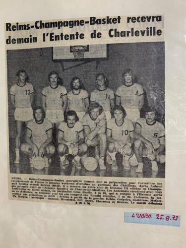 RCB - Premiere equipe 1973